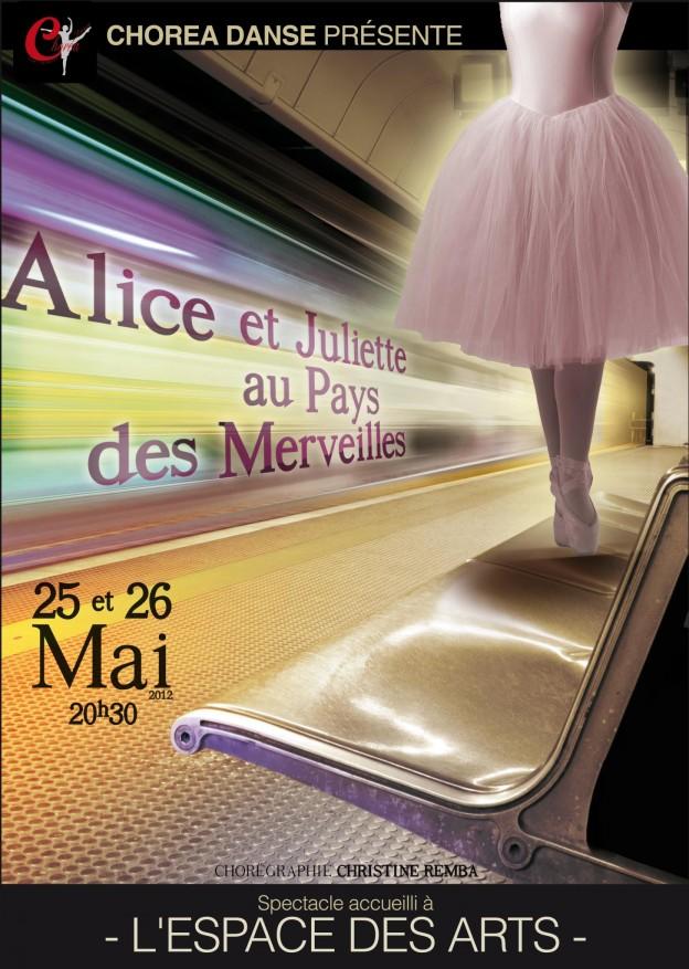 Alice et Juliette au Pays des Merveilles